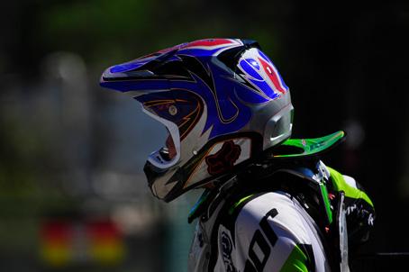 Cool helmet...